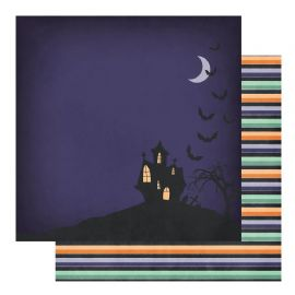 Fancy Pants - Spellbound - Happy Haunting 12x12 Paper